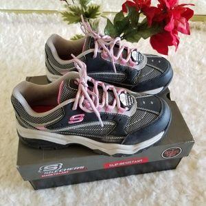 Skechers Women's Bisco Slip Resistant Work Shoe
